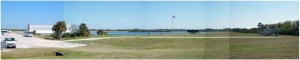 Panoramic view of KSC launchpads. Image: Nancy Atkinson