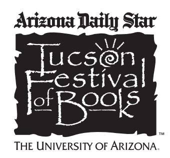 Heading out for the Tucson Festival of Books