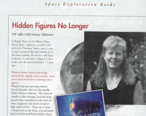 "Publisher's Weekly Features ""Eight Years to the Moon"""
